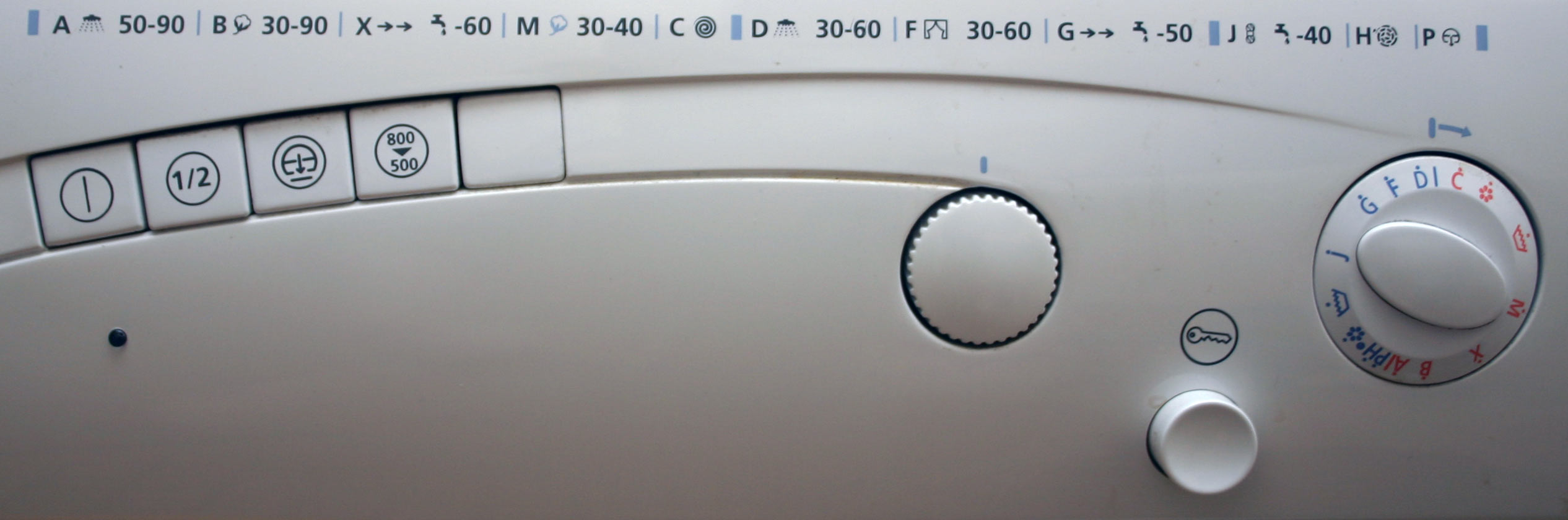 Washing Machine UI